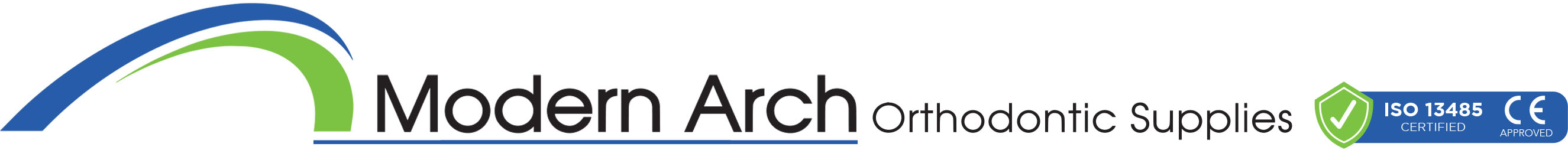 Orthodontic Supplies - Modern Arches Logo